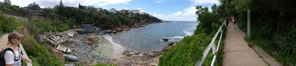 Sydney plajlarından Gordon's Bay