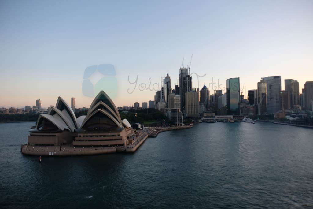 Opera House ve Circular Quay Sydney